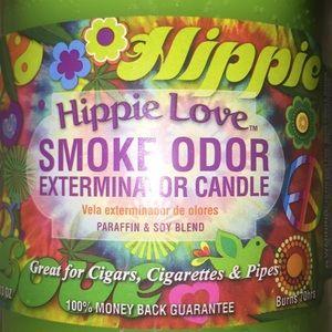 Accessories - 🌱Hippie Love Smoke Odor Exterminator Candle 🌱